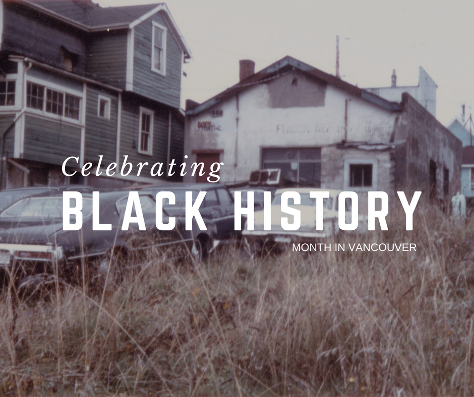 BLACK HISTORY MONTH VANCOUVER EVENTS